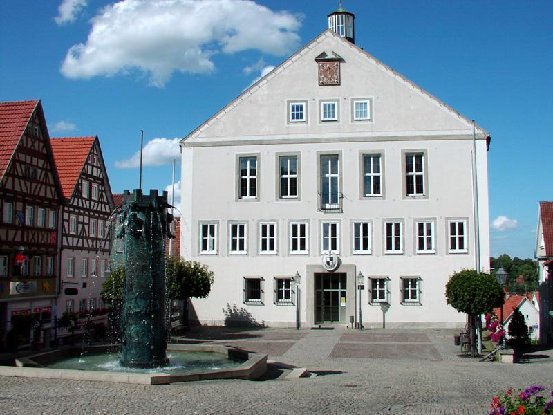 Außenansicht Rathaus Hechingen