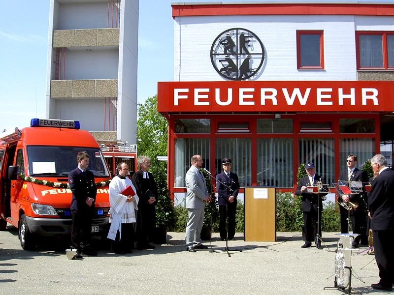 Feuerwehr Fahrzeugweihe