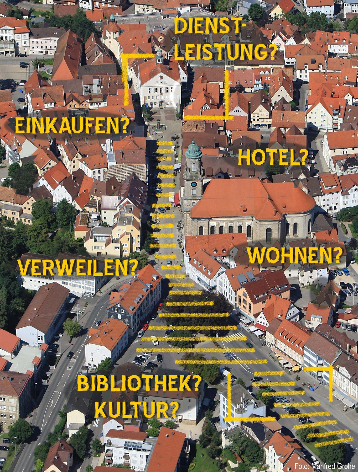 """Modellprojekt """"Kleinstadtleben"""""""