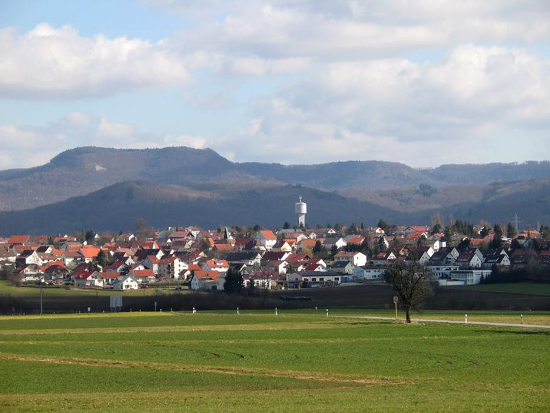 Hechingen: der Stadtteil Sickingen