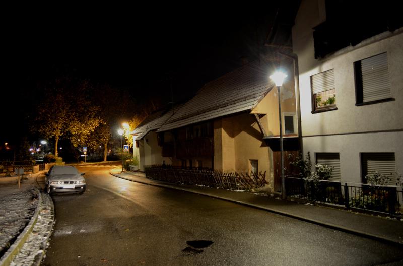 Erhellend: Neue LED-Leuchten in der Oberen Mühlstraße