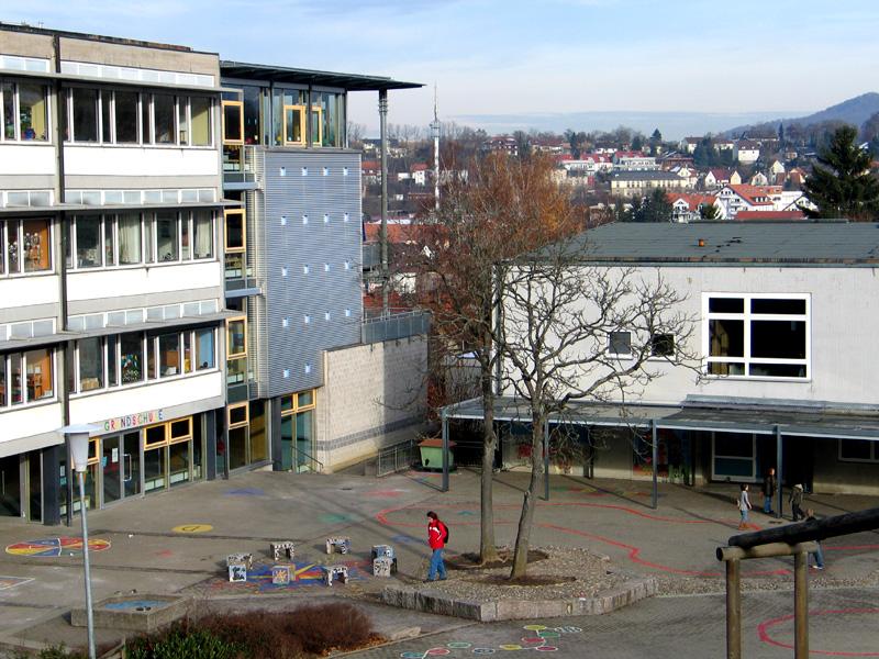 Außenansicht Grundschule am Schlossberg
