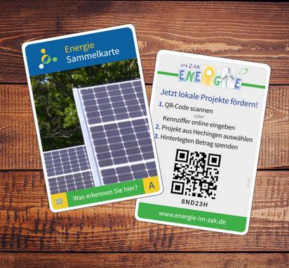 Hechingen - Energiesammelkarten