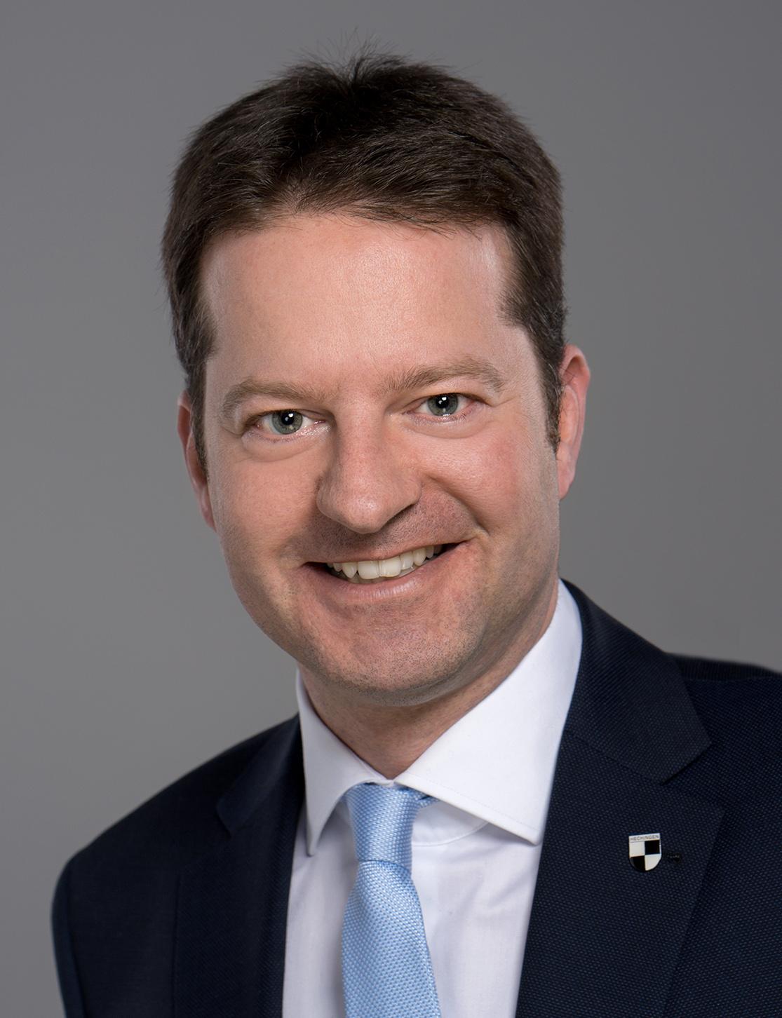 Bürgermeister Philipp Hahn