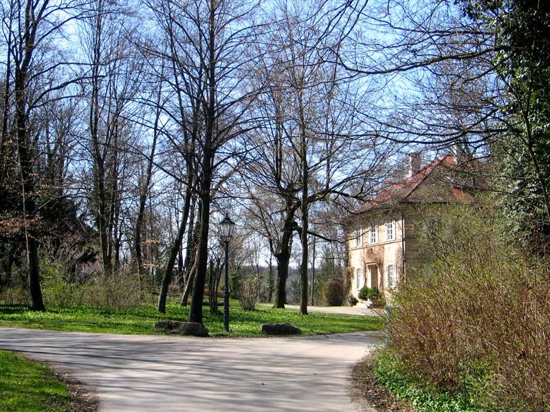Fürstengarten, ein Landschaftspark inmitten der Stadt