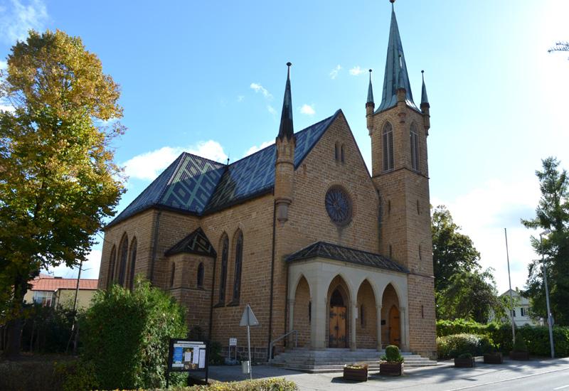 Hechingen: die evangelische Johanneskirche