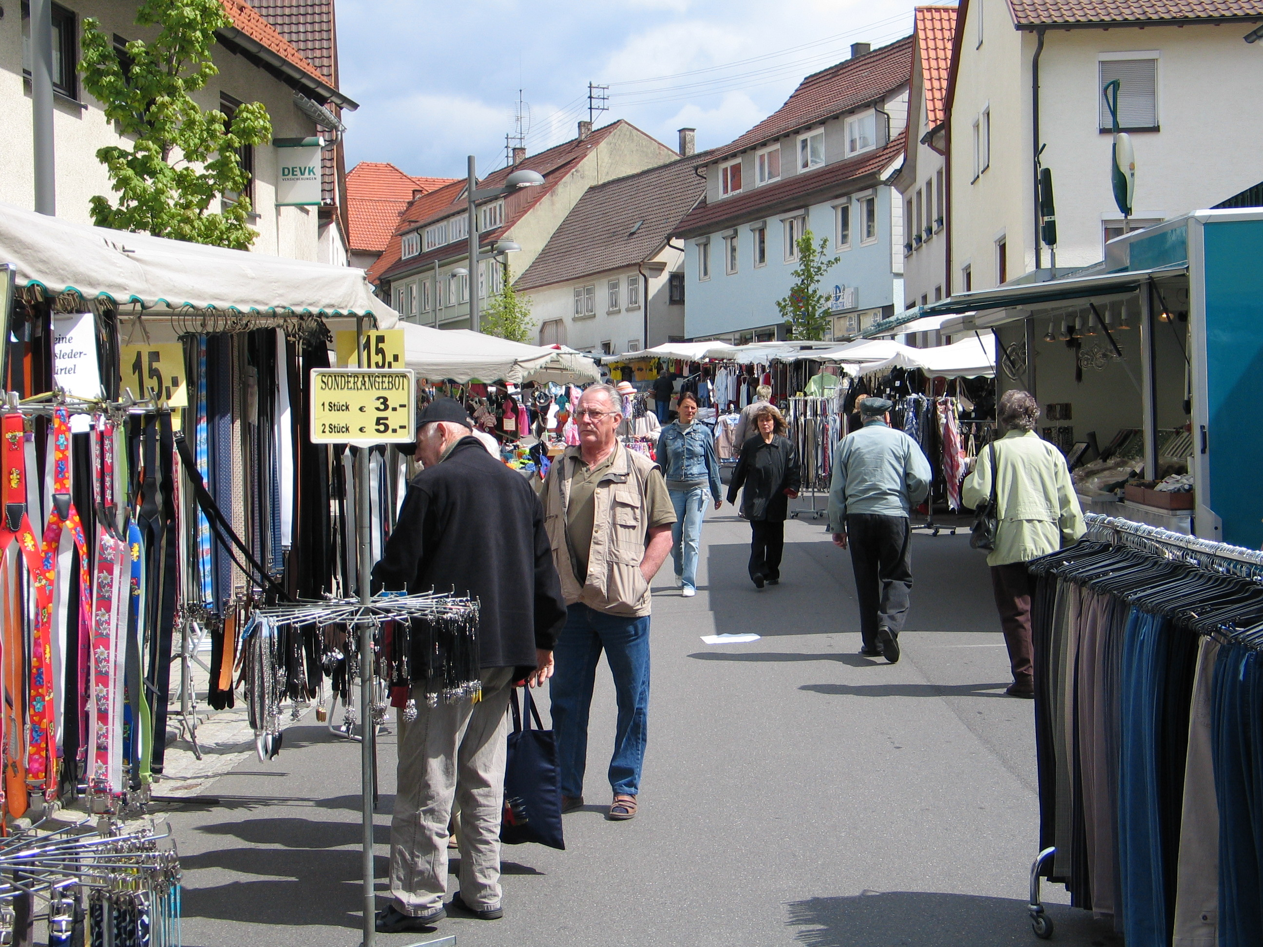 Jahrmarkt Herrenackerstraße