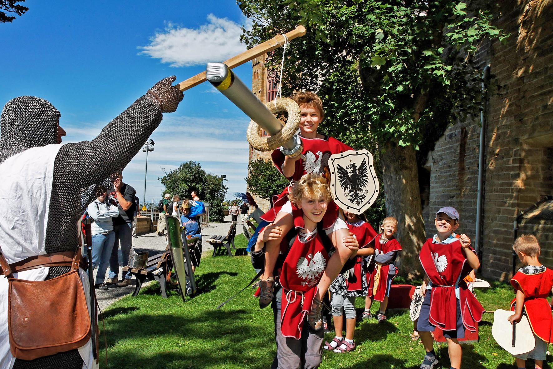 Kinderprogramm Burg Hohenzollern