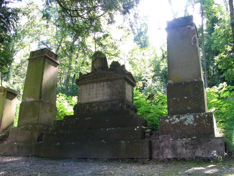 Grab der Hoffaktorin Madame Kaulla