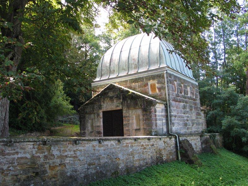 Jüdischer Friedhof - Friedhofshalle