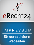 eRecht 24 Siegel Impressum