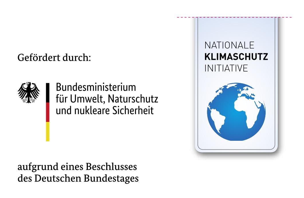 Logo Bundesumweltministerium und Nationale klimaschutzinitiative