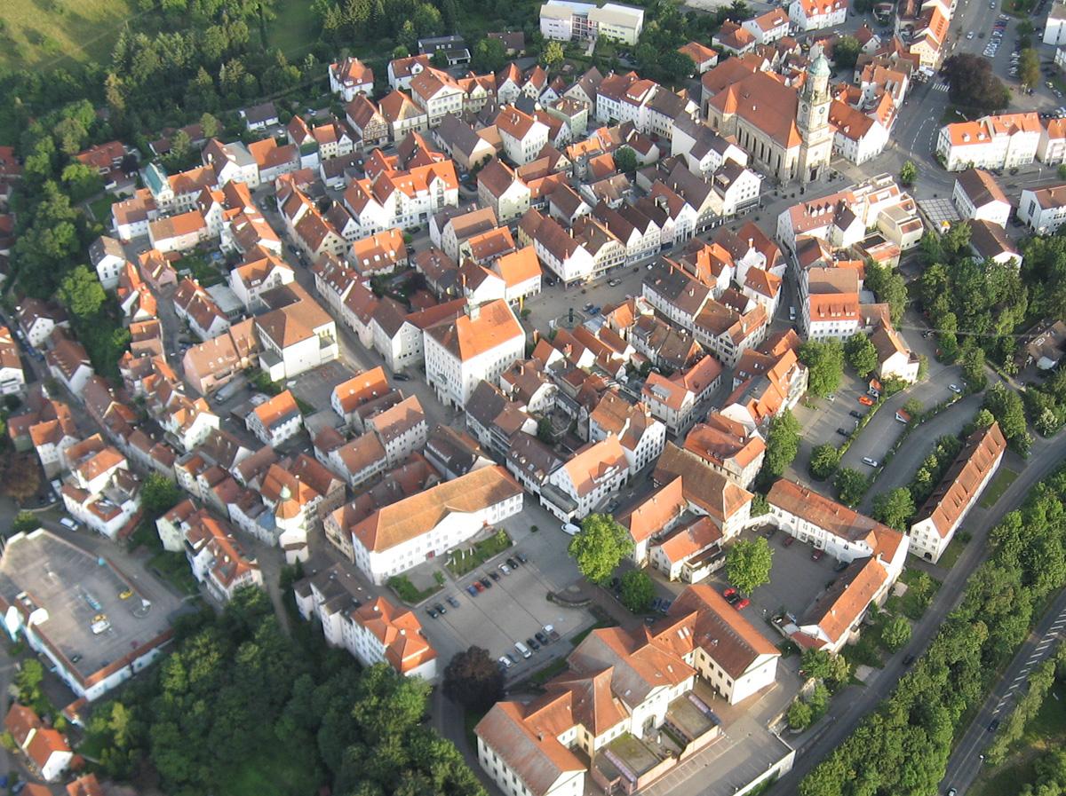 Hechingen - Altstadt (Foto: Erwin Kapp)