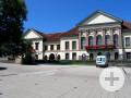 Ansicht Busparkplätze auf dem Schloßplatz