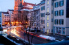 Neustraße und Kirchplatz (Bild: Brigitte Weiler)