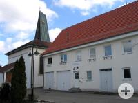 Außenansicht Rathaus Sickingen