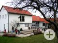 Außenansicht katholischer Kindergarten Sankt Marien in Weilheim