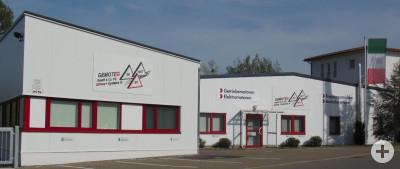Das Firmengebäuder der GEMOTEG GmbH & Co. KG