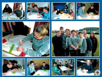 Ausbildung der Streitschlichter an der Landessportschule in Albstadt