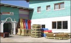 EIngangsbereich Holz Heider GmbH