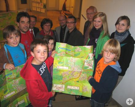 Präsentation des Hechinger Kinderstadtplans