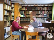 Innenansicht Heimatbücherei