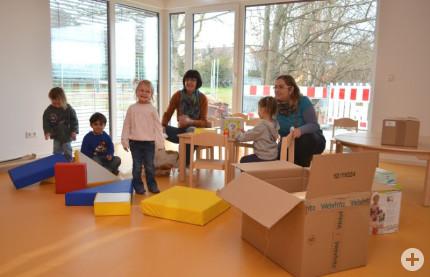 Krippengruppe im Kindergarten Sickingen