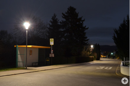 Hechingen-Bechtoldsweiler: stromsparende Straßenbeleuchtung