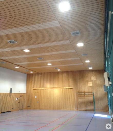 Hechingen-Bechtoldsweiler: stromsparende Beleuchtung im Bürgerhaus