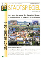 Stadtspiegel - Amtsblatt der Stadt Hechingen