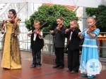 Ensemble der Jugendmusikschule beim Kinderfest