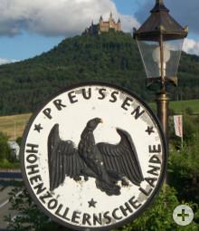1849/50 wird Hechingen preußisch