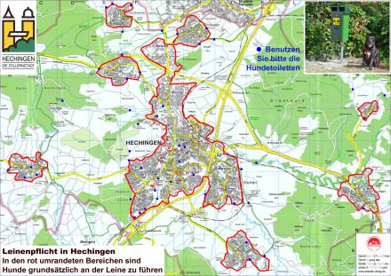 Stadt Hechingen: Leinenpflicht für Hunde und Hundetoiletten
