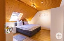 Schlafzimmer Ferienwohnung Starzelblick