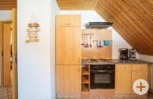 Küchenzeile Ferienwohnung Starzelblick