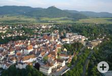 Luftbild von Hechingen